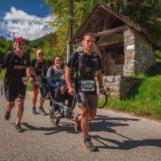 Le trail du Laudon en Joëlette